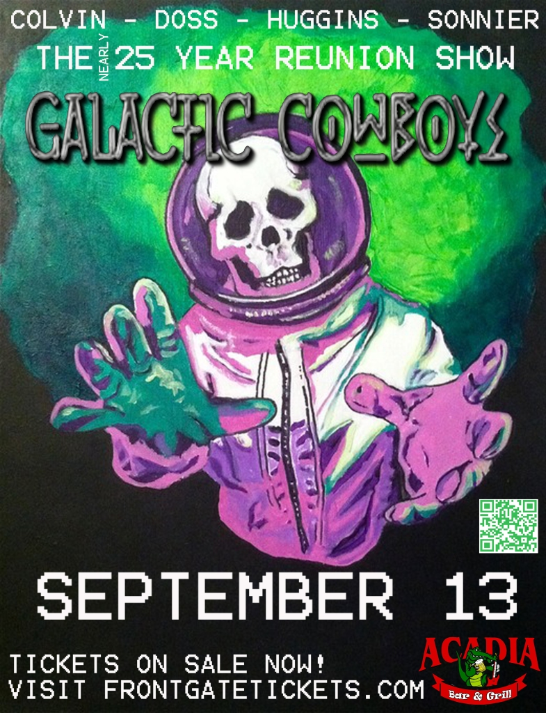 Galactic Cowboys Poster